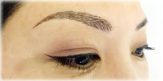 image of after semi-permanent makeup