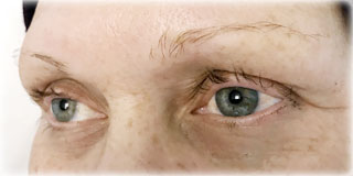 image of before semi-permanent makeup